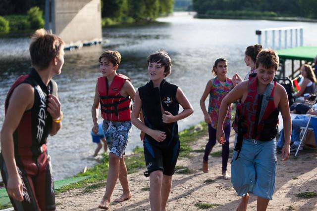 U.S. Water Ski Show Team - Scotia, NY - 10, Aug - 04