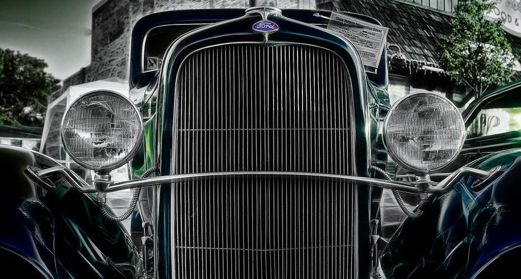 1932 Ford Hot Rod Fractalius 3 by hz536n/George Thomas