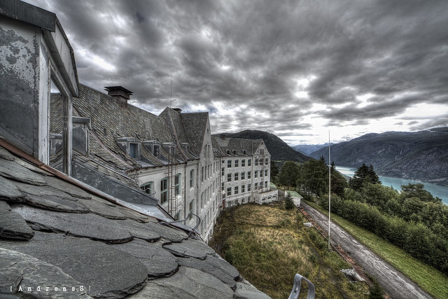 The view from the sanatorium