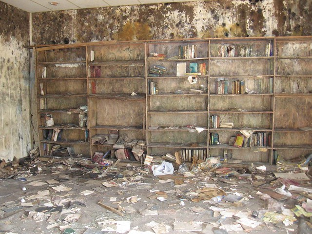 Destroyed books