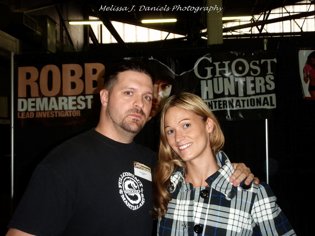 Me and Robb Demarest | Of Ghost Hunters International | Melissa