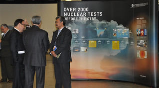 30 August 2010: Opening of the joint CTBTO/Kazakh exhibition