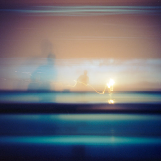 pinhole 541, PDX: 56 seconds of sunrise... 27 minutes before flight departure