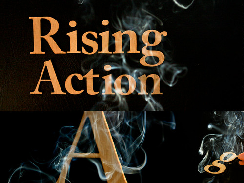 Rising Action In The Typography Course Digital Design