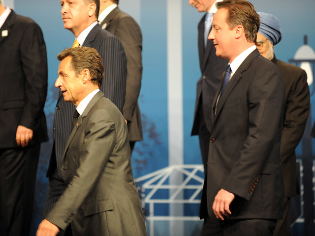 PM and Nicolas Sarkozy