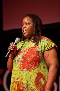 Farai Chideya – Our lovely MC – TEDx Oil Spill – Washington, DC
