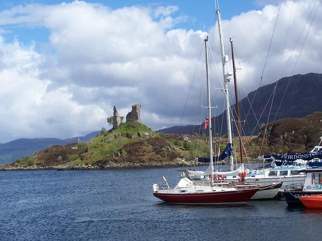 Caisteal Moal, Kyleakin, Isle of Skye, May 2006