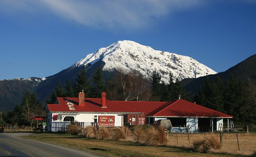 mountain snow building landscape store countrystore mtsomers alfordforest alfordforestcoffeeshop