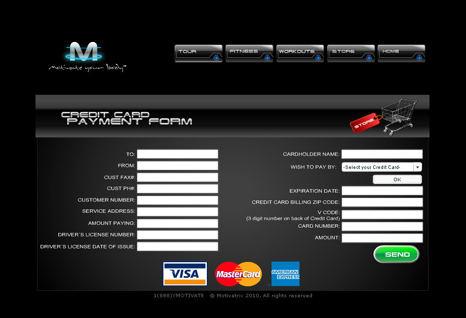 credit card payment form | flash, html, php  | calangas! | Flickr