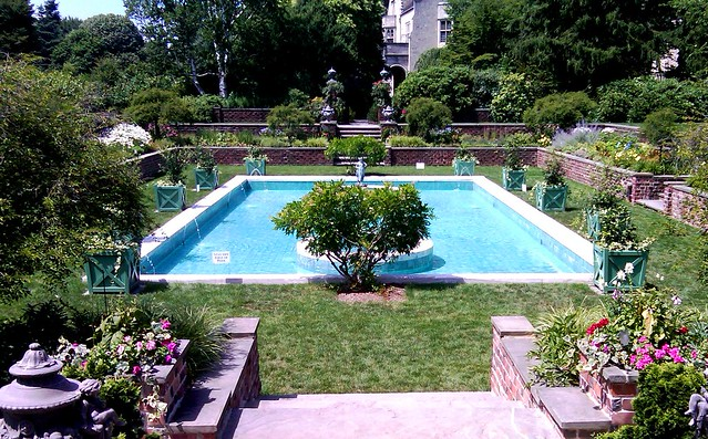 The Italian Garden and Pool at Planting Fields
