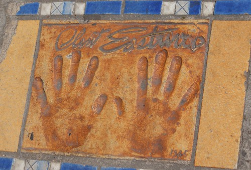 Clint Eastwood Handprint, Cannes | by spencer77