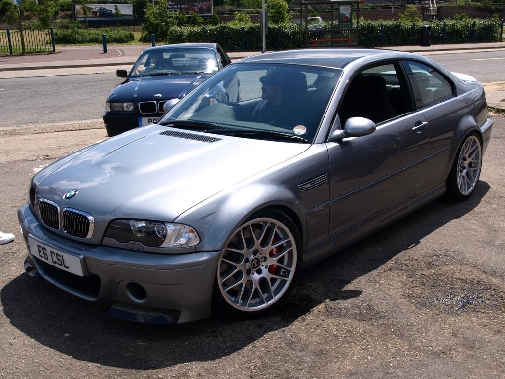 E46 M3 Csl Silver Grey Metallic Bmw Car Club Gb Ireland Flickr