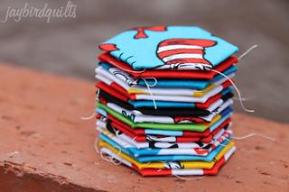 dr. seuss hexagons | by Jaybird Quilts