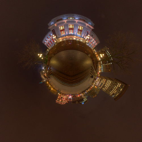 Youvilloid RAW Stereographic - Panorama in Quebec City [Explored] | by haban hero