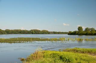 Skunk River Flooding north of Cambridge