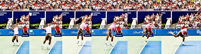 Roger Federer Serve 6