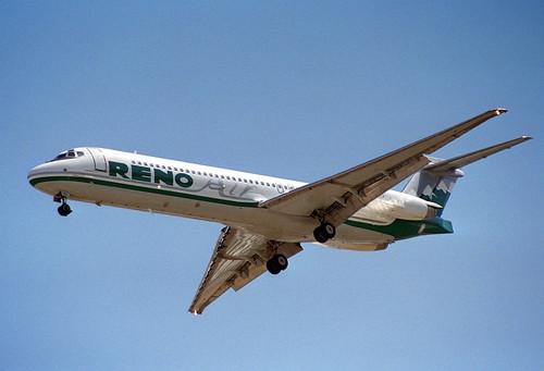 Reno Air Md 87 N752ra Las 01 08 1995 First Flight