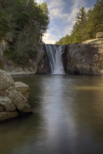 nature pool clouds swimming waterfall nc fisherman rocks northcarolina bluesky hdr swimminghole elkriver naturephotography elkfalls elkpark pisgahnationalpark averycounty waterfallphotography davidhopkinsphotography
