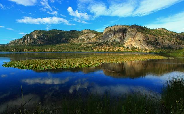 Vaseux Lake, Okanagan Valley, British Columbia