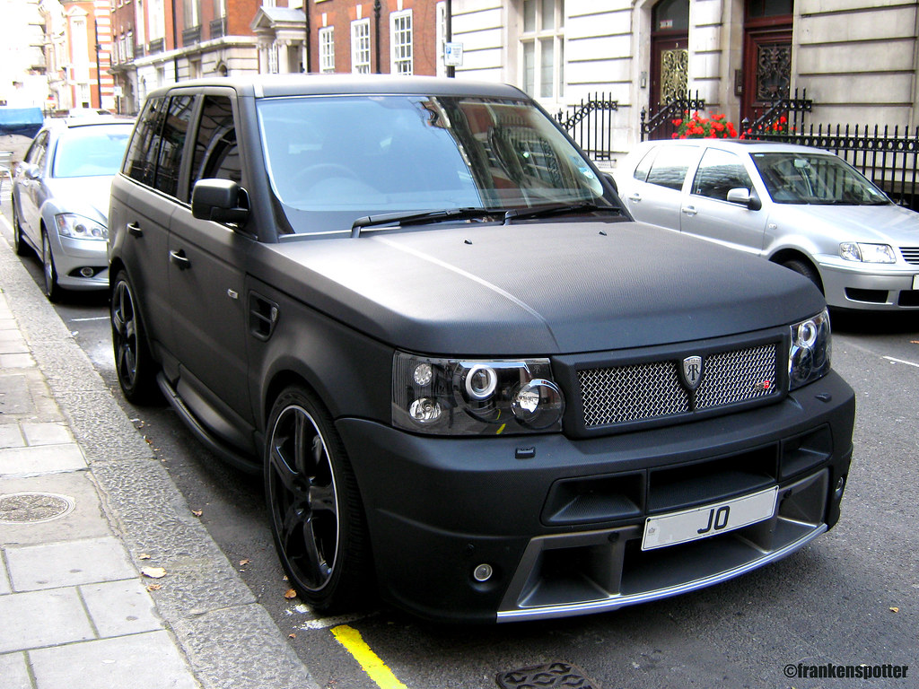 Range Rover Matte Black >> Matte Black Range Rover Sport Hse By Revere That S No Car Flickr