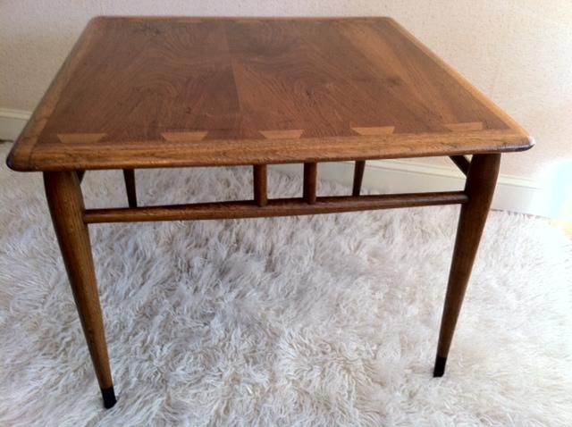 Vintage Lane Furniture Side Table | Cool and Sleek Lane Furn ...