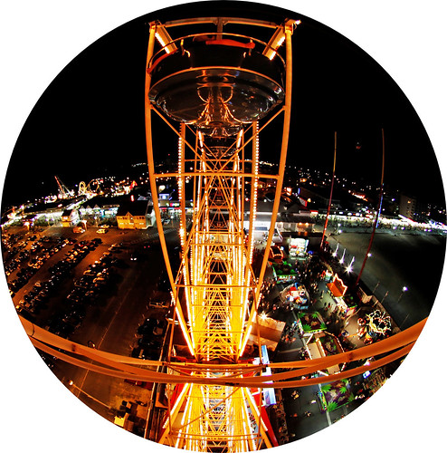 maryland ferriswheel oceancity onvacationwithdaughtersandfisheye notbadsinceiwasgettingyelledatforrockingthecar