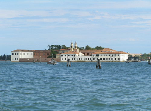 San Servolo from the ferry boat