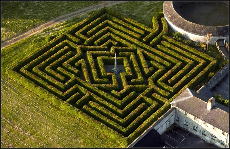 A Maze from the Sky