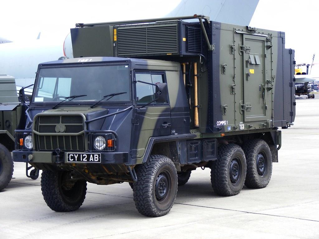 Pinzgauer CY12AB RAF Waddington