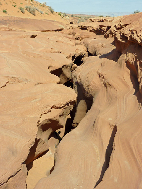 Entrance to Lower Antelope Canyon