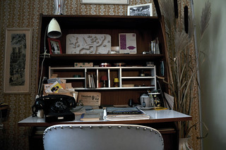 "50's desk | by Adrian ""Hova"" Stuart"