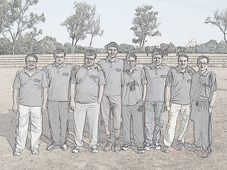 My cricket team on ground | by Mohandoss