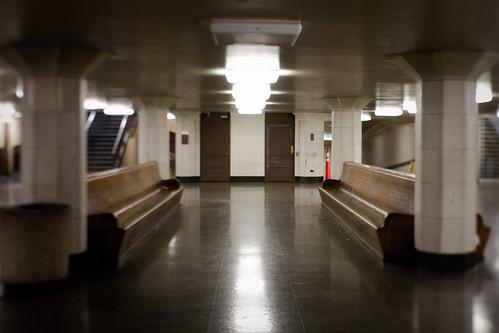 transbay terminal: empty