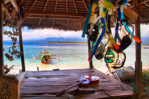 Relaxation Accoutrement.  Gili Islands, Lombok, Indonesia 2010 | by mikaku