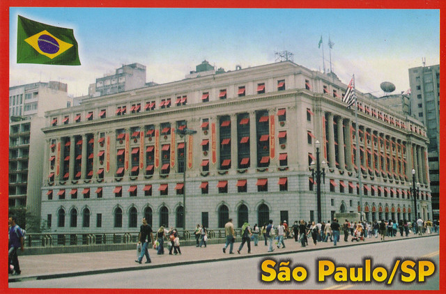 City Center Sao Paulo Postcard