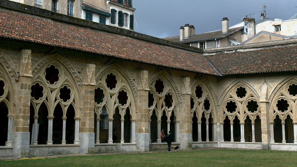Cloister of Bayonne Cathedral