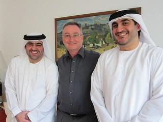 peter jackson, rashid farooq and ahmed al arshi | with my co