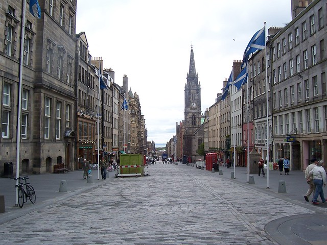 The Royal Mile, Edinburgh, May 2007