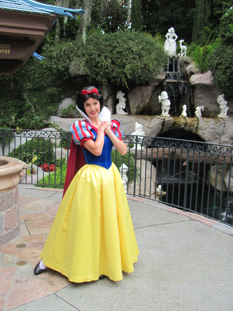 Snow White at Snow White's Grotto