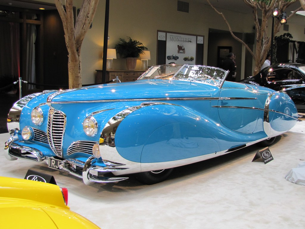 Concours D Elegance >> 1949 Delahaye Type 175 S Roadster | One of many cars on auct… | Flickr