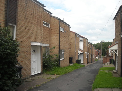 Row of council houses | by Gene Hunt