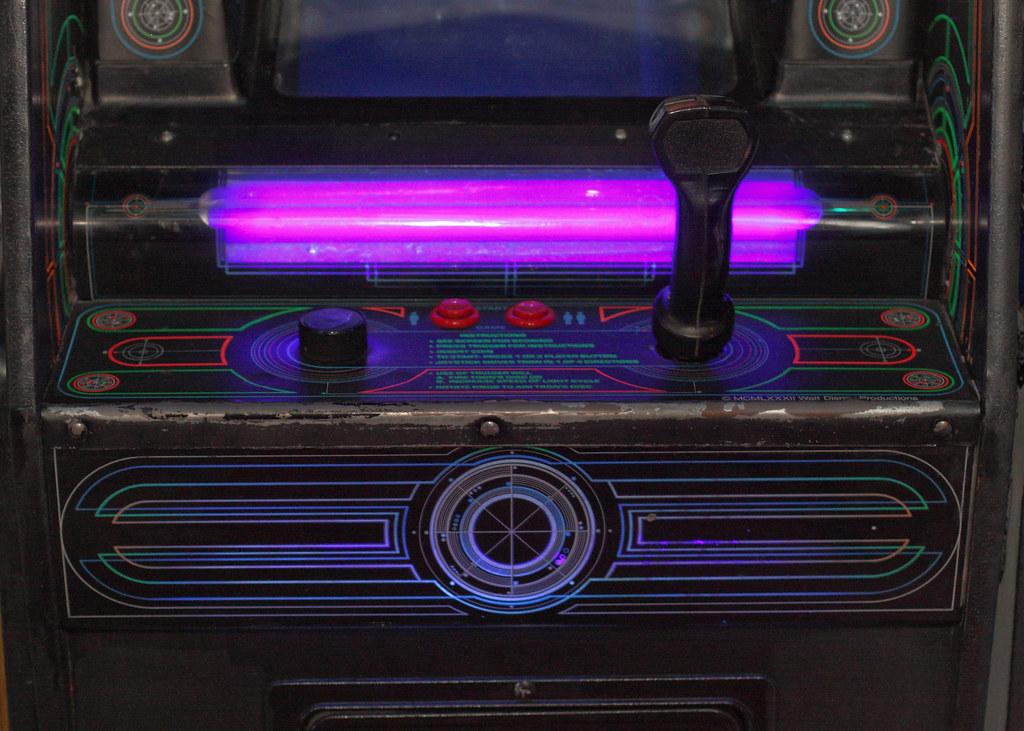 Tron Arcade Controllers