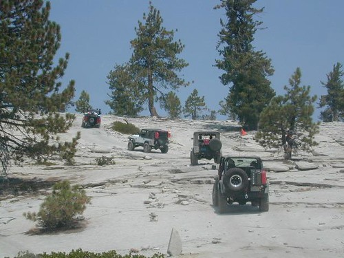 Jeepin' the Sierras