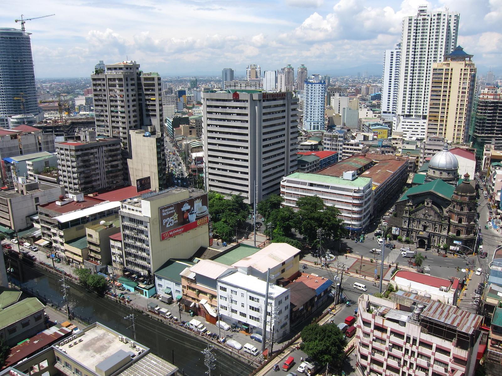 Chinatown Downtown Manila Philippines