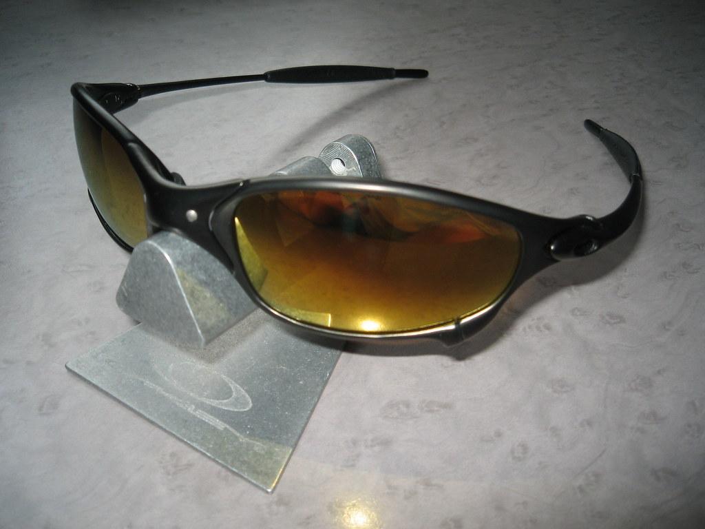 a84598cca Oakley Juliet® Carbon w/24K Gold Iridium ed/Corvette - a photo on ...