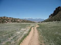 Hidden Valley above Moab, Utah