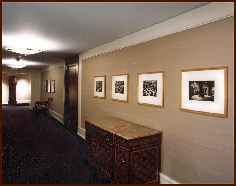 Palacae Hotel, Mezzanine level exhibit