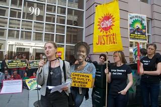 Make Big Oil Pay march to Chevron, EPA & BP 410