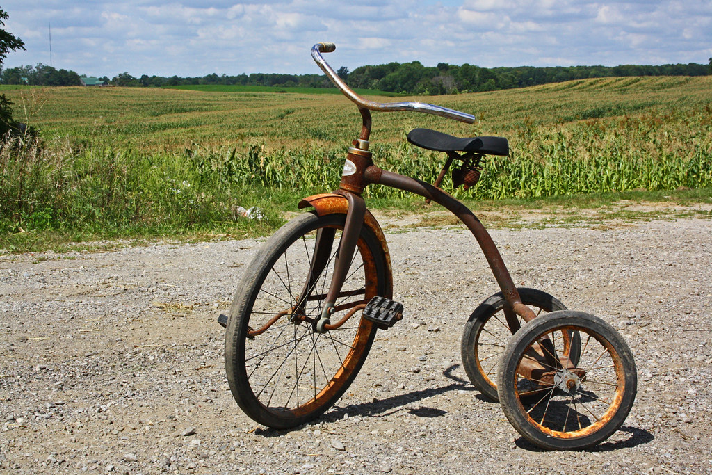 062268cb8e0 antique tricycle   by trouble4dan antique tricycle   by trouble4dan