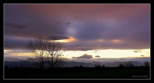 sunset nature colors sunrise landscape picture